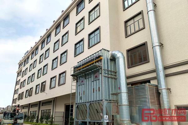 南枝红新厂部六层高现代式生产大楼
