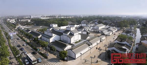 苏州博物馆全景