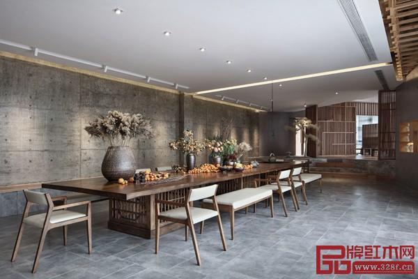 麓客学社,一个古朴与雅致并存的中式文化生活馆