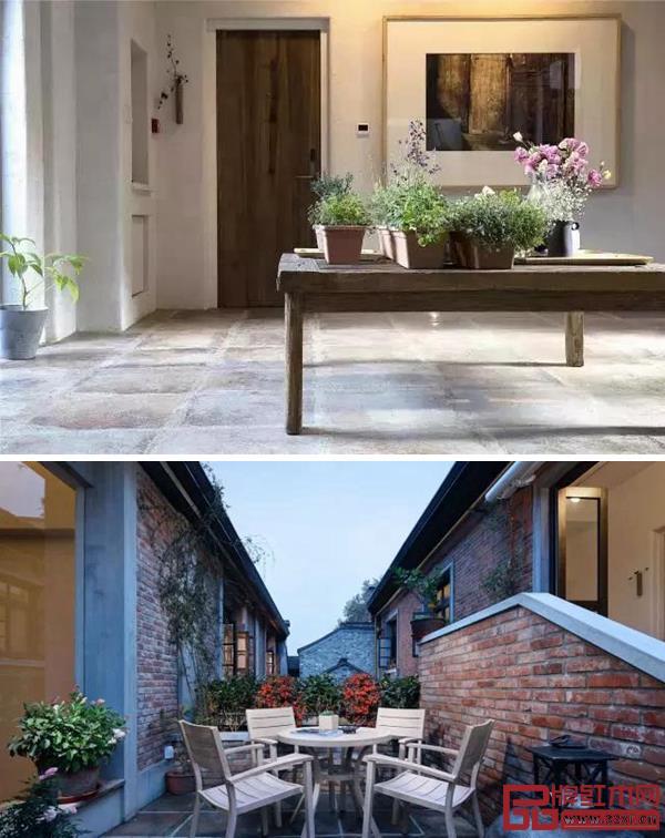 院落、窗台、墙头,皆能寻觅花木草叶的踪影