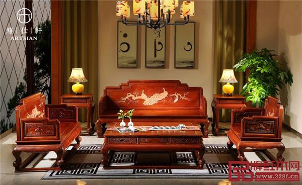 雅仕轩红木——缅甸花梨沙发
