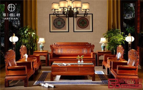 雅仕轩红木——缅甸花梨家具