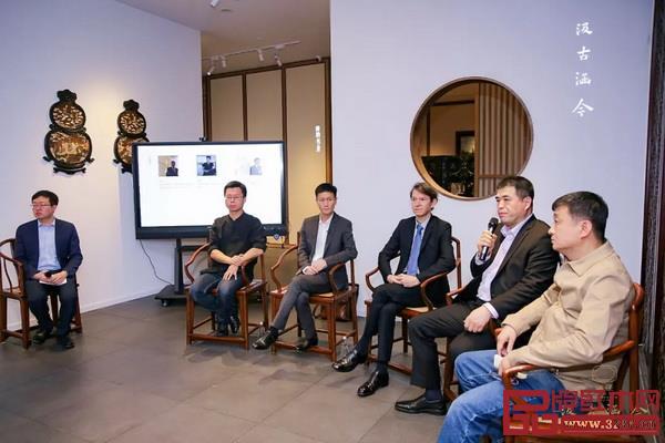 """""""东西方文化交流与中国古典家具""""主题讲座嘉宾合影"""