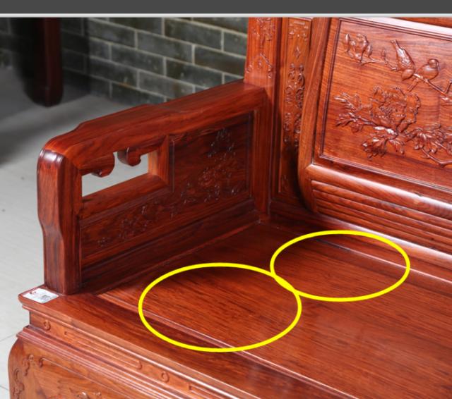 刺猬紫檀千赢国际入口沙发 见过这样的奇特的木纹吗