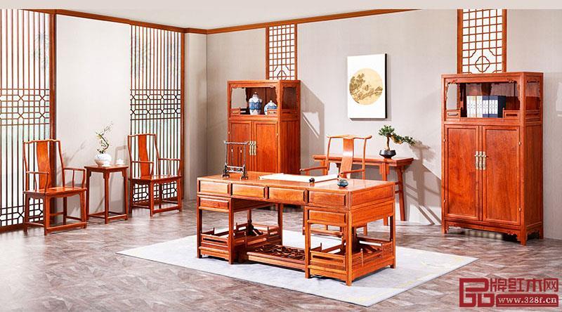 办公室红木家具摆放技巧有哪些?有哪些讲究?
