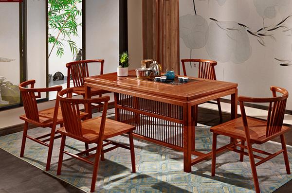 刺猬紫檀家具好不好 花梨木茶几的保养方法