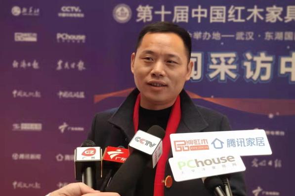 万事红蒋国洪:打造最专业的微凹黄檀品牌