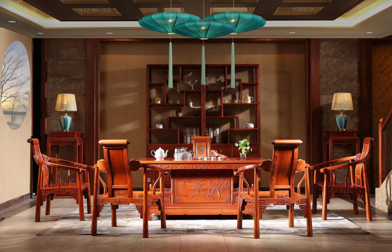 广东省中山缅甸花梨木家具价格是怎么样?雅宋 让你全面掌握