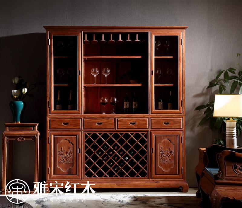 你会选购缅甸花梨木酒柜吗?缅甸花梨木酒柜选购方法