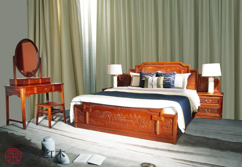 为你解读缅甸花梨木床功效 缅甸花梨木大床保健功效