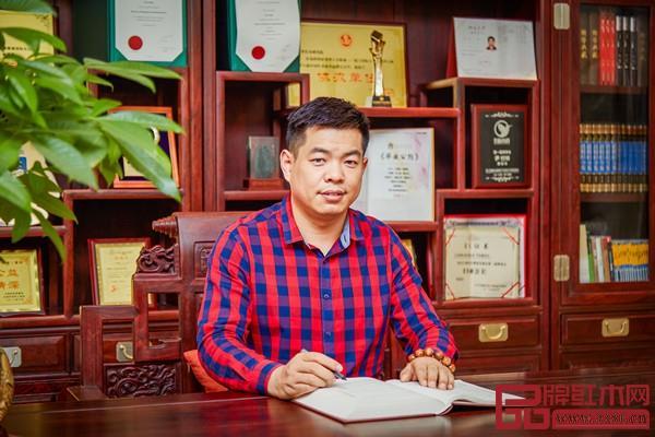 居典红木董事长尹付林