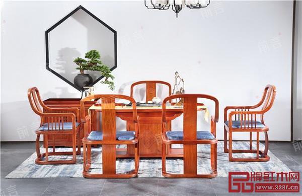 中信红木家具产品