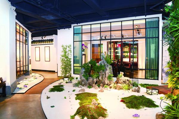 泰和园:苏州园林与别墅红木的异曲同工之妙