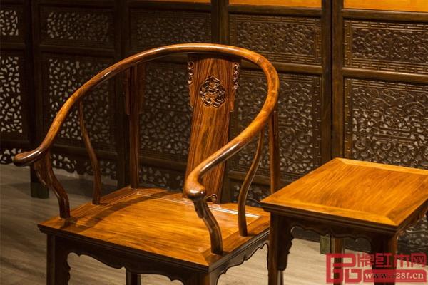黄花梨明式家具简约唯美。天生丽质