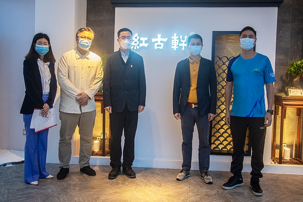 广东省家具协会会长王克,助力红古轩发展