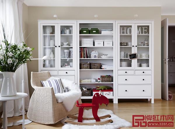 利用不同的柜子打造符合个人生活的收纳体系