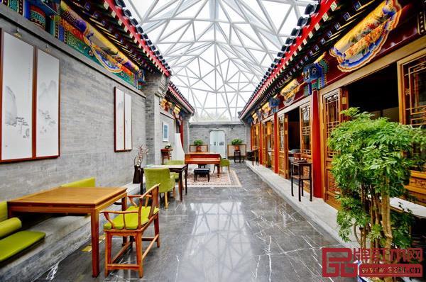 北京古城四合院