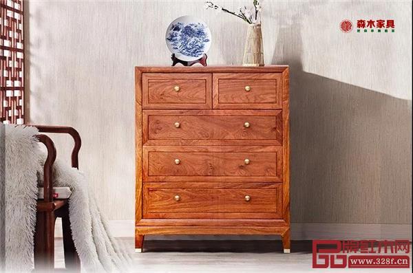 森木家具和雅五斗柜