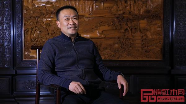 恒达木业董事长兼总设计师陈国良