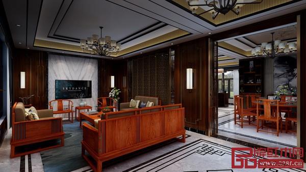 双洋红木整装空间案例