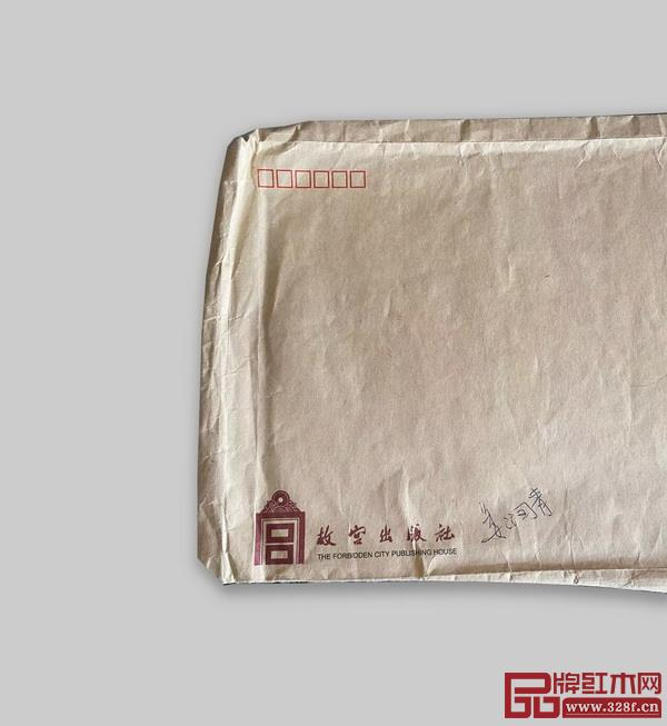 笔者留下的稿件袋纪念物(原为责任编辑姜润青老师所用)