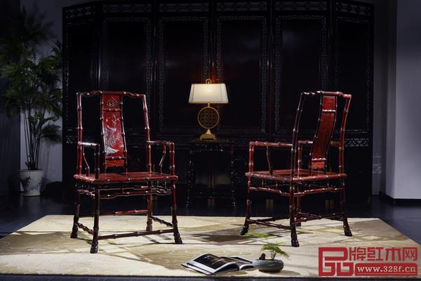 泰和园《竹节椅》