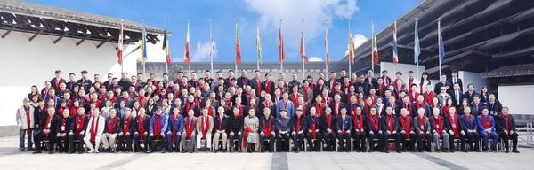第11届红木品牌峰会与会嘉宾大合影