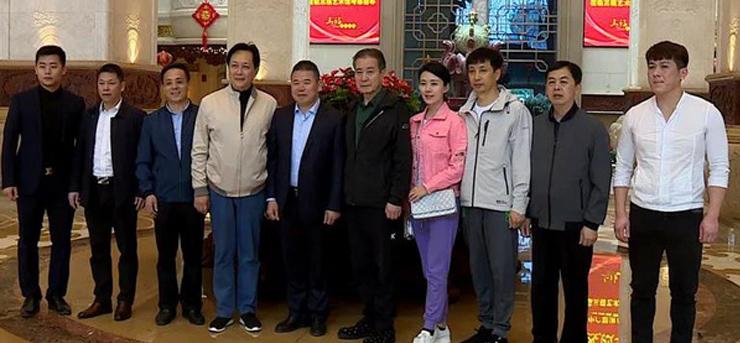知名演员唐国强一行来仙游调研红木产业