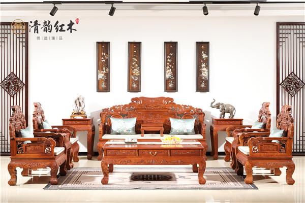 爱家的你,清韵红木家具让您的生活更有仪式感!
