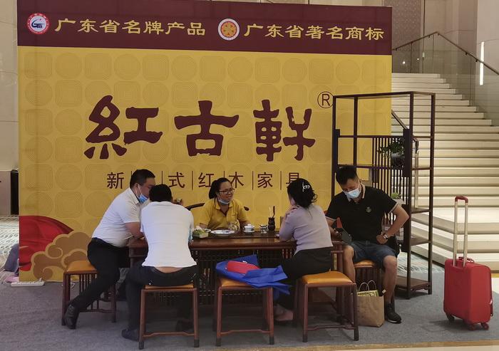 为新中式代言!红古轩亮相第五届新中式红木展