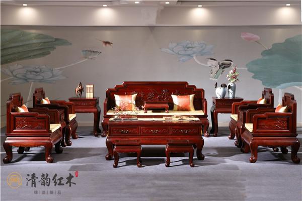 看这些巴里黄檀餐桌及沙发图片,如何惊艳一个家?