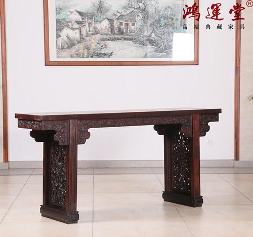 鸿运堂讲红木文化--红木家具为什么用榫卯而不用铁钉?
