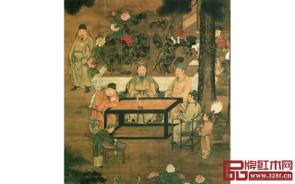 十八學士圖與宋代文人雅致生活模式—琴、棋、書、畫  、詩、酒、花、茶