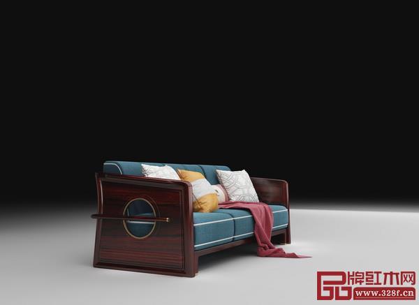 兴成红木新品牌阅见——《皓月》沙发