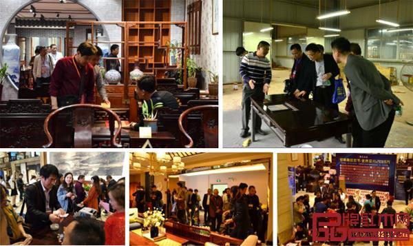 每年来中山红博会选加盟品牌和选购产品,已经成全国红木经销商的习惯
