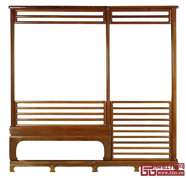 明式家具的设计简约、讲究