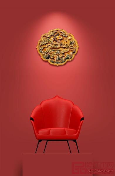 """意大利古典家具奢侈品牌""""SAVIO FIMINO""""与中国设计师马聪合作,以故宫的""""如意""""为灵感,运用到现代家具设计中,以最简约的方式诠释中国文化内涵"""