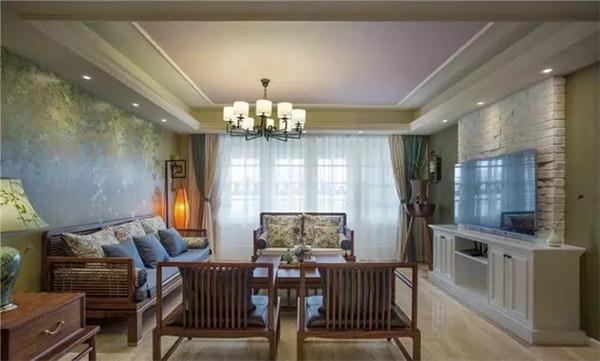 150平米现代新中式装修,古典的低调与雅奢!