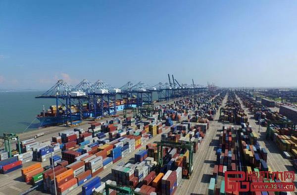 广州港新增五条国际班轮航线