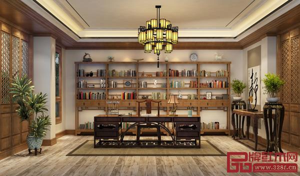 当前中式成为家装潮流,且人们日益注重健康的生活,消费市场对红木家具的需求存在很大的上升空间(卓木王/图)