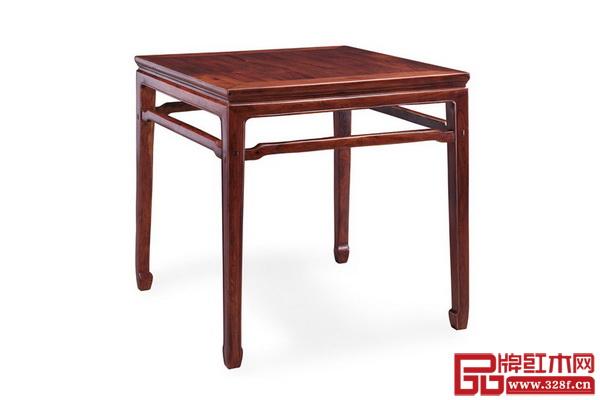 大家之家明式家具作品——小葉紫檀明式八仙桌