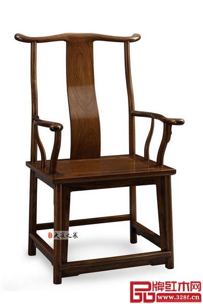 大家之家明式家具作品——海南黃花梨四出頭官帽椅