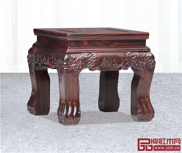《金玉满堂沙发》小方凳