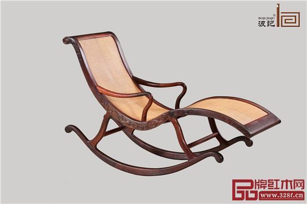 波记家具:摇椅