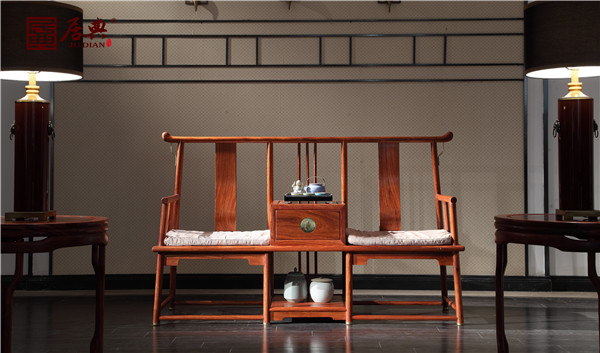 江门市居典红木家具有限公司 《圆融休闲椅》