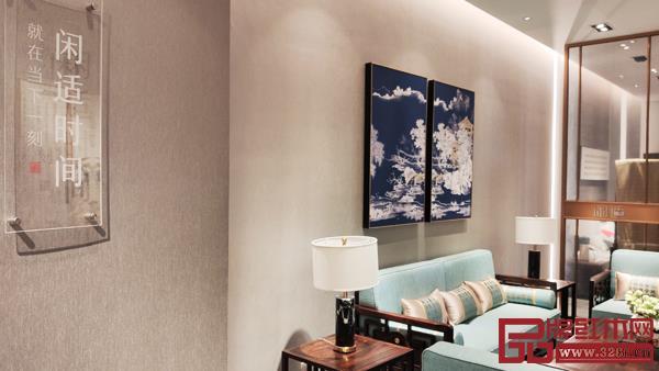 闲适红木旗舰店旨在打造精致、舒适、中式的生活空间样本