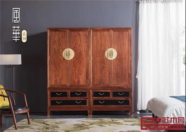 森木家具精品推荐:红木衣柜,会藏着怎样的珍