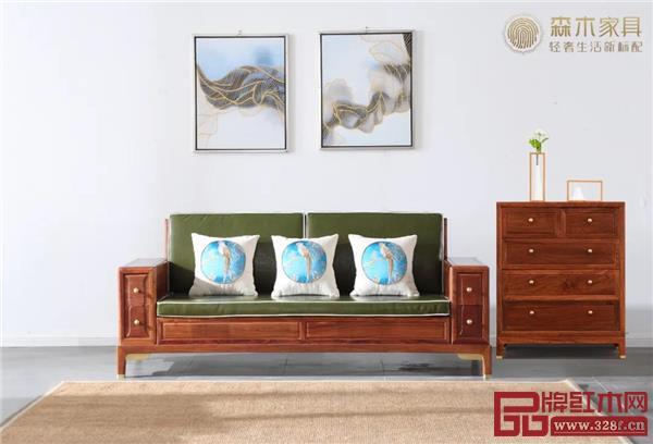 森木家具精品推荐:一个红木斗柜,可以让艺术