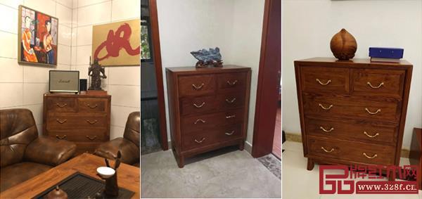 森木家具和雅五斗柜买家秀
