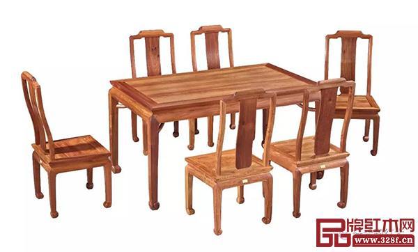 轩禾殿红木:合家欢乐餐桌椅